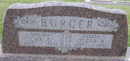 BURGER, EVA F - Dallas County, Iowa | EVA F BURGER