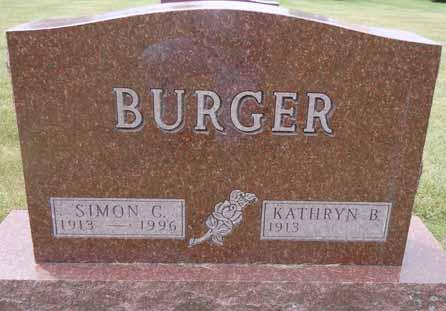 BURGER, SIMON C - Dallas County, Iowa | SIMON C BURGER
