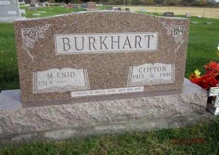 BURKHART, M ENID - Dallas County, Iowa | M ENID BURKHART