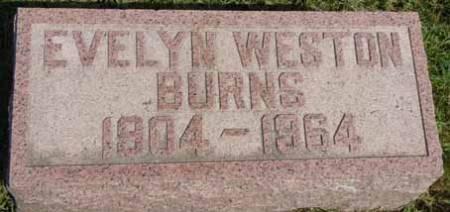 WESTON BURNS, EVELYN - Dallas County, Iowa | EVELYN WESTON BURNS