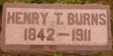 BURNS, HENRY T - Dallas County, Iowa | HENRY T BURNS