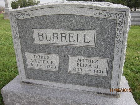BURRELL, WALTER E - Dallas County, Iowa | WALTER E BURRELL