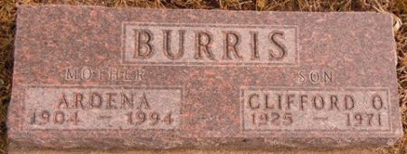 BURRIS, ARDENA - Dallas County, Iowa | ARDENA BURRIS