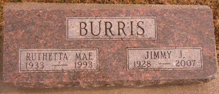 BURRIS, JIMMY J. - Dallas County, Iowa   JIMMY J. BURRIS