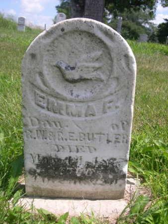 BUTLER, EMMA F. - Dallas County, Iowa | EMMA F. BUTLER