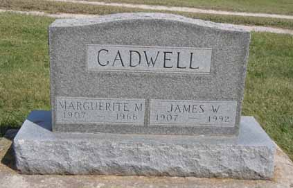 CADWELL, MARGUERITE M - Dallas County, Iowa | MARGUERITE M CADWELL