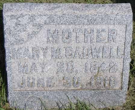 CADWELL, MARY M - Dallas County, Iowa | MARY M CADWELL