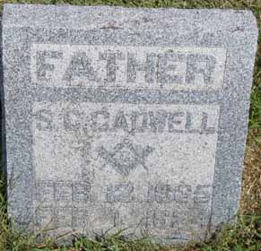 CADWELL, S C - Dallas County, Iowa | S C CADWELL