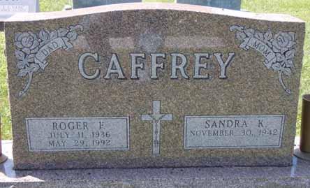 CAFFREY, ROGER F - Dallas County, Iowa   ROGER F CAFFREY