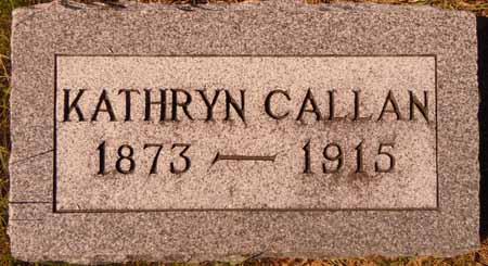 CALLAN, KATHRYN - Dallas County, Iowa | KATHRYN CALLAN