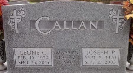 BARCLAY CALLAN, LEONE C. - Dallas County, Iowa | LEONE C. BARCLAY CALLAN