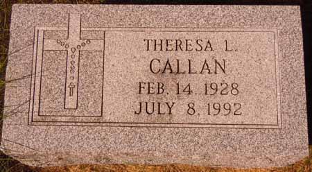 CALLAN, THERESA L. - Dallas County, Iowa | THERESA L. CALLAN