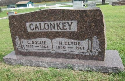 CALONKEY, H CLYDE - Dallas County, Iowa   H CLYDE CALONKEY