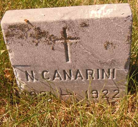 CANARINI, N. - Dallas County, Iowa   N. CANARINI