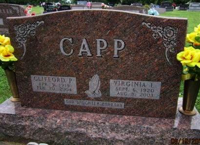 CAPP, VIRGINIA L - Dallas County, Iowa | VIRGINIA L CAPP