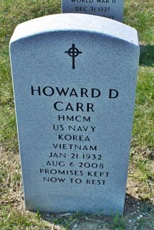 CARR, HOWARD D. - Dallas County, Iowa   HOWARD D. CARR