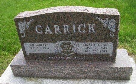 CARRICK, DONALD C. - Dallas County, Iowa | DONALD C. CARRICK