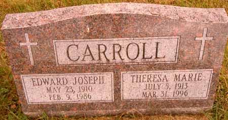 CARROLL, THERESA MARIE - Dallas County, Iowa   THERESA MARIE CARROLL