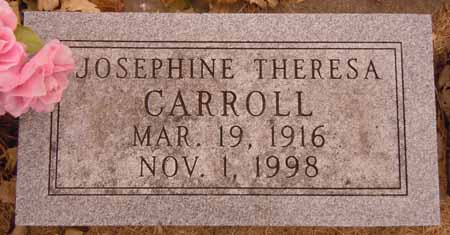 CARROLL, JOSEPHINE THERESA - Dallas County, Iowa | JOSEPHINE THERESA CARROLL