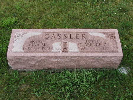 CASSLER, MINA - Dallas County, Iowa | MINA CASSLER