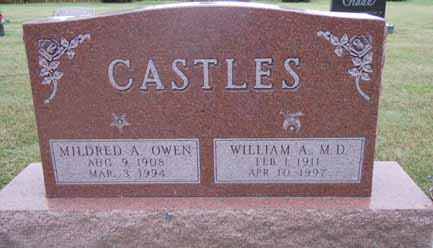 CASTLES, MILDRED A - Dallas County, Iowa | MILDRED A CASTLES