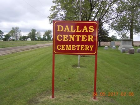 DALLAS CENTER AKA MASONIC, CEMETERY - Dallas County, Iowa | CEMETERY DALLAS CENTER AKA MASONIC