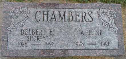 CHAMBERS, A JUNE - Dallas County, Iowa   A JUNE CHAMBERS