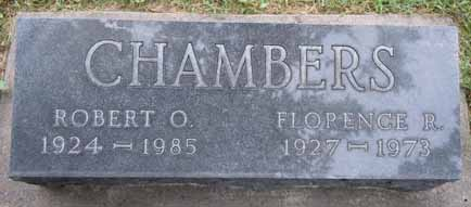 CHAMBERS, FLORENCE R - Dallas County, Iowa | FLORENCE R CHAMBERS