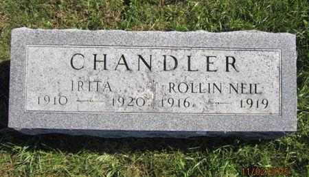 CHANDLER, IRITA - Dallas County, Iowa | IRITA CHANDLER