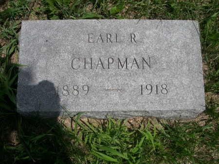 CHAPMAN, EARL R. - Dallas County, Iowa | EARL R. CHAPMAN