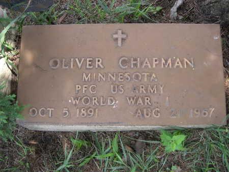 CHAPMAN, OLIVER - Dallas County, Iowa   OLIVER CHAPMAN