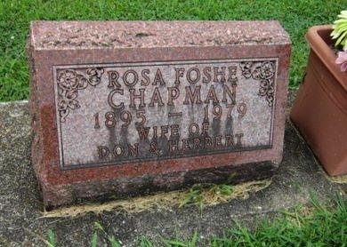 CHAPMAN, ROSA - Dallas County, Iowa | ROSA CHAPMAN