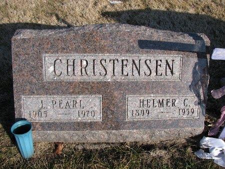 CHRISTENSEN, L. PEARL - Dallas County, Iowa | L. PEARL CHRISTENSEN