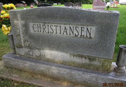 CHRISTIANSEN, GLEN N - Dallas County, Iowa | GLEN N CHRISTIANSEN