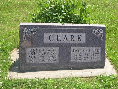 CLARK, ANNA - Dallas County, Iowa | ANNA CLARK