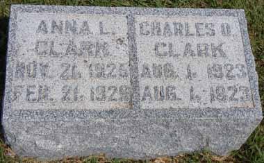 CLARK, ANNA L - Dallas County, Iowa   ANNA L CLARK