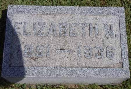 CLARK, ELIZABETH N - Dallas County, Iowa   ELIZABETH N CLARK