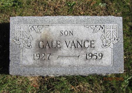 CLARK, GALE VANCE - Dallas County, Iowa | GALE VANCE CLARK