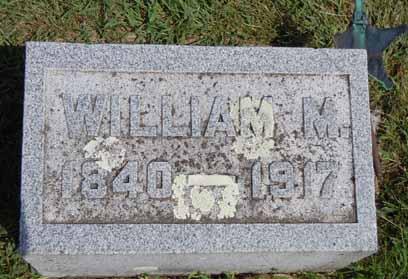 CLARK, WILLIAM M - Dallas County, Iowa   WILLIAM M CLARK