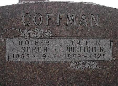 COFFMAN, WILLIAM RILEY & SARAH - Dallas County, Iowa | WILLIAM RILEY & SARAH COFFMAN