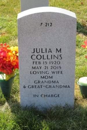 COLLINS, JULIA M - Dallas County, Iowa | JULIA M COLLINS
