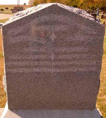 COLLINS, WILLIAM G. - Dallas County, Iowa | WILLIAM G. COLLINS