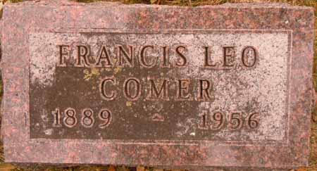 COMER, FRANCIS LEO - Dallas County, Iowa   FRANCIS LEO COMER