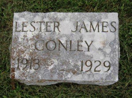 CONLEY, LESTER JAMES - Dallas County, Iowa   LESTER JAMES CONLEY