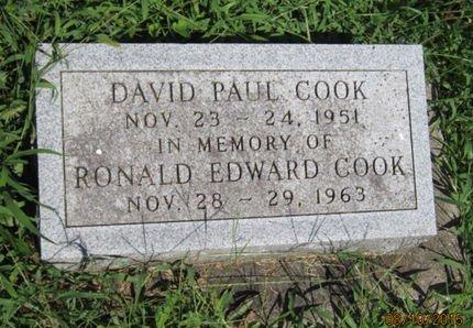 COOK, RONALD EDWARD - Dallas County, Iowa | RONALD EDWARD COOK