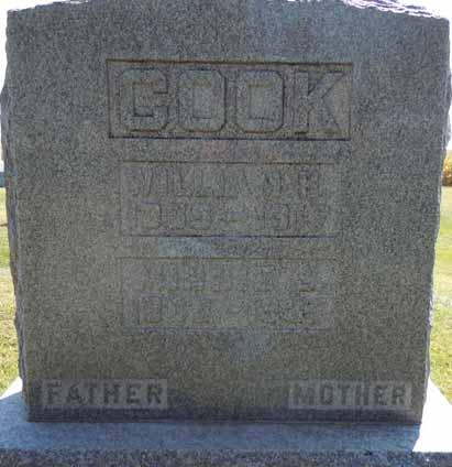 COOK, WILLIAM H - Dallas County, Iowa | WILLIAM H COOK