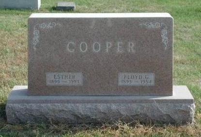 COOPER, FLOYD GILBERT - Dallas County, Iowa   FLOYD GILBERT COOPER