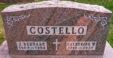 COSTELLO, CATHERINE W. - Dallas County, Iowa   CATHERINE W. COSTELLO