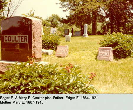 COULTER, MARY - Dallas County, Iowa | MARY COULTER