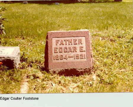 COULTER, EDGAR - Dallas County, Iowa | EDGAR COULTER